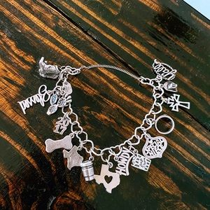 James Avery Charm Bracelet with Charms!